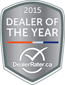 DealerRater 2015 Award