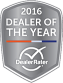 DealerRater 2016 Award